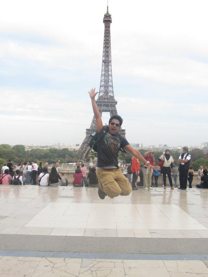 Eiffel Tower - Statue Equestre du Maréchal Foch